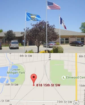 Photo and Map of Beje Clark Residential Center Mason City